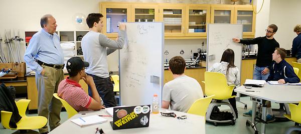 Rick Matthews' flipped physics class